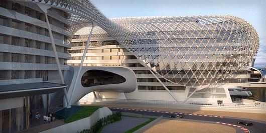 Mimdap for Asymptote architecture yas hotel
