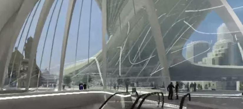 Piezza sandridge köprüsü ile southbank kentini birbirine bağlayan