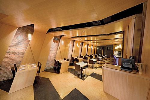 Mimdap for Design hotel i restoran navis