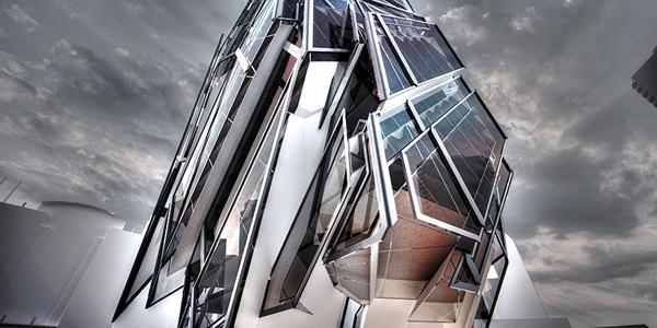 Bir çağdaş mimarlık unsuru olarak ayrılmış monolithic yapılar