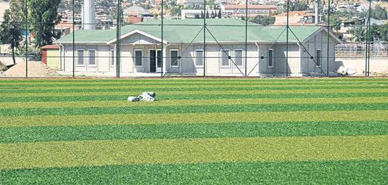 Yönetim yeni sezon öncesi Çiğli Selçuk Yaşar Tesisleri'nde baştan aşağı tadilat yaptı.