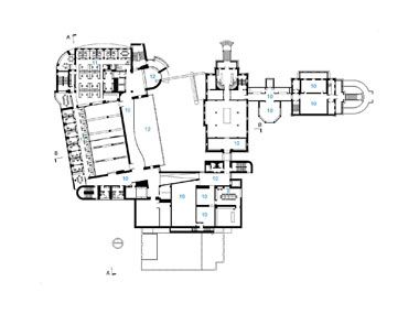 Teel aile pavyonu müzesinin büyüklüğü kaliforniya için bir